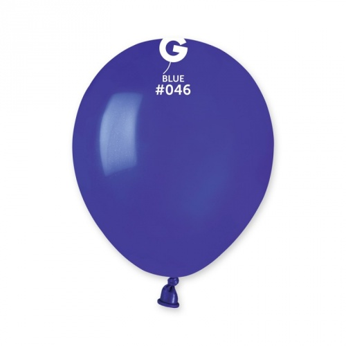 COLORED BALLONS 5' DARK BLUE 100 pcs.