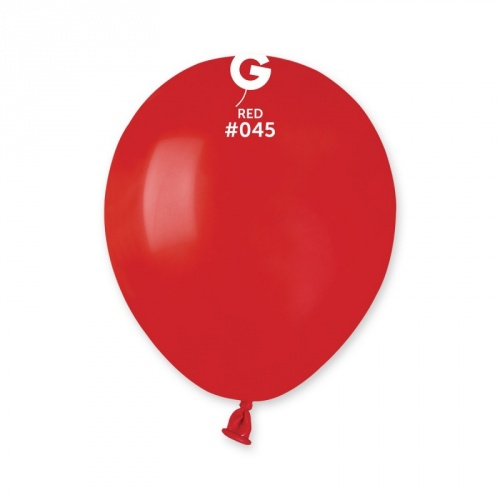 COLORED BALLONS 5' RED 100 pcs.