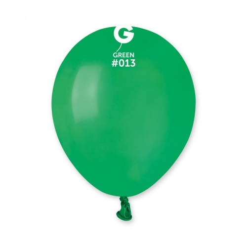 COLORED BALLONS 5'  GREEN FOREST 100 pcs.