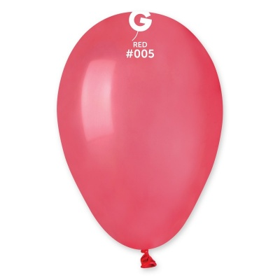 "COLORED BALLONS 7 "" RED 100 pcs."