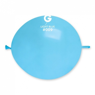 Link o Loon light-blue color Latex Balloon 100 Pcs. 13 inch.